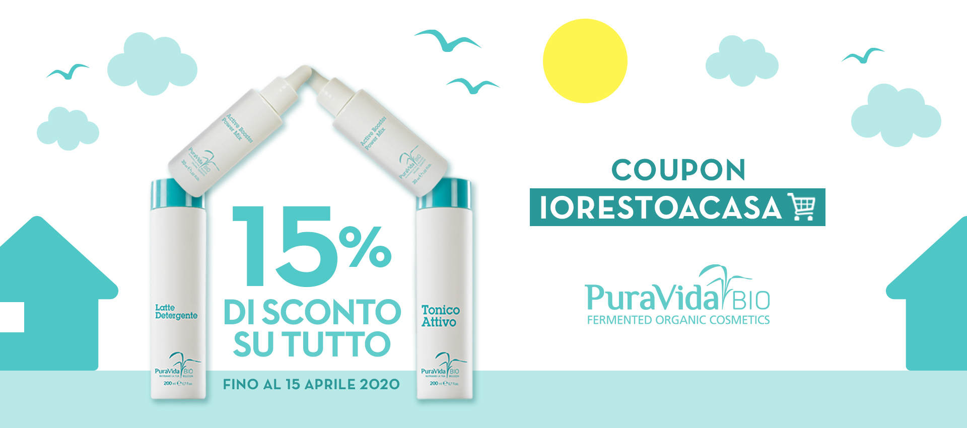 SCONTO 15% SU TUTTO
